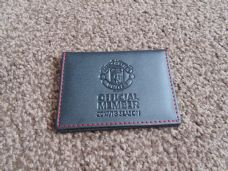 MANCHESTER UNITED MEMBERSHIP CARD HOLDER - 2017/18
